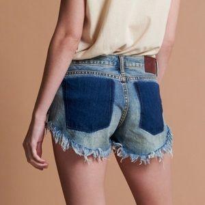 One Teaspoon Bonitas Shorts Size 27 Low Waist